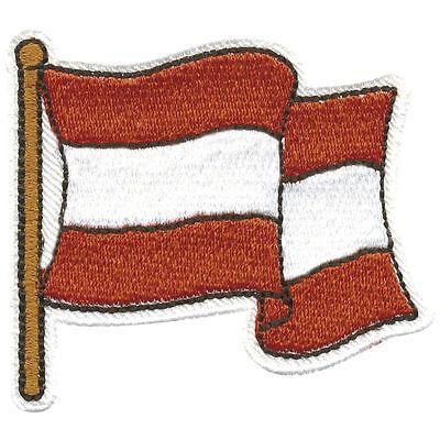 (00871) Aufnäher Patches Applikation Wappen 6 x 6cm ☆ AUSTRIA ÖSTERREICH ☆