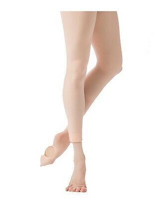 Danskin 603 Women/'s Size A NYC Ballet Black Convertible Tights with Back Seam