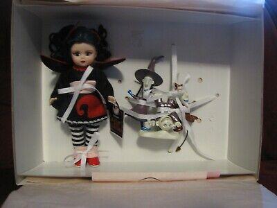 Madame Alexander Black /& White  Striped Socks for 8/'/' Dolls