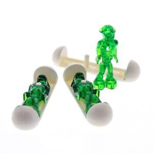 3-x-Lego-System-Figur-Mars-Mission-Alien-transparent-gruen-Glow-In-Dark-leuchtet