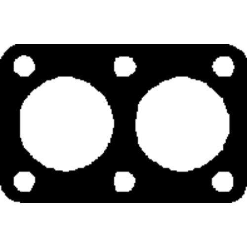 Abgasrohr für Abgasanlage FA1 110-989 Dichtung
