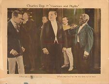 Original Lobby Card 1920 Nineteen and Phyllis Charles Ray Silent Film