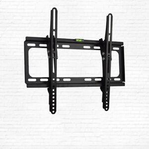 Ultra-Slim-TV-Bracket-Wall-Mount-Tilt-26-30-32-34-40-42-46-50-55-034-LCD-LED-4K-UHD
