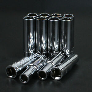 "18~32 mm Deep Impact Long Socket 1//2/"" Drive Metric Socket For Ratchet Wrench 1PC"
