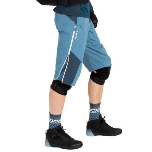 Vaude Moab 4 Messieurs-Cuissard radshort Bike-Short MTB Vélo-Pantalon 42350-981 Blue