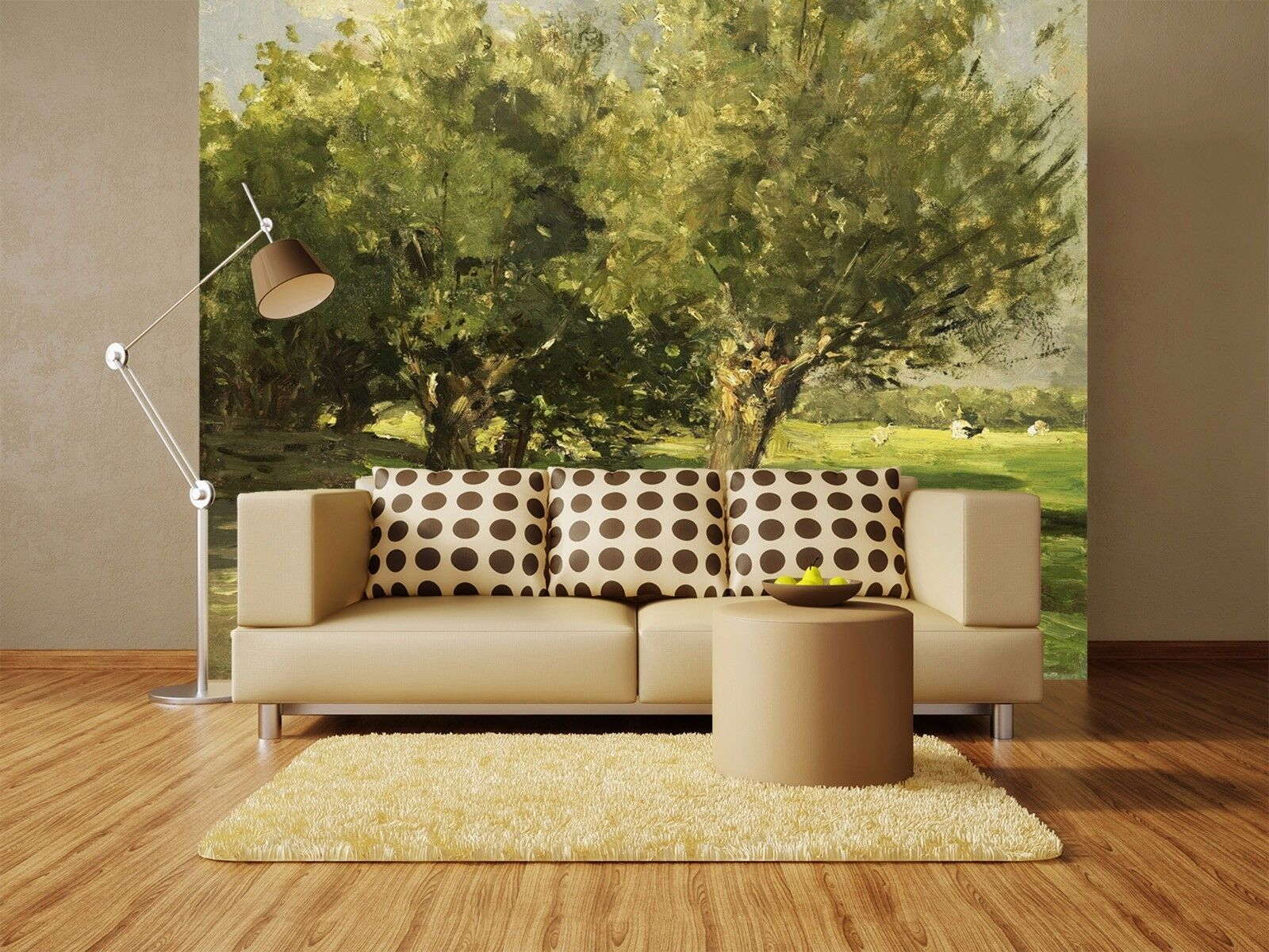 3D Green Tree Lawn 85 Wallpaper Mural Paper Wall Print Wallpaper Murals UK