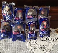 Mcdonalds Happy Meal Bratz Doll - 2002-2003 Lot Of 8 In Unopened Package