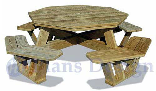 picnic table plans                                     click here