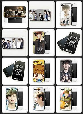 Kpop EXO M k-pop sehun Kris Luhan iphone4/4s iphone 4 case hot sale cover case