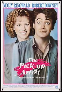 THE-PICK-UP-ARTIST-1987-Movie-Poster-27x41-BratPack-RDJ-Comedy-MoviePoster