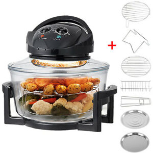 Electric-Air-Fryer-Halogen-Oven-Healthy-Cook-1400W-Super-Sized-17L-Fat-amp-Oil-Free