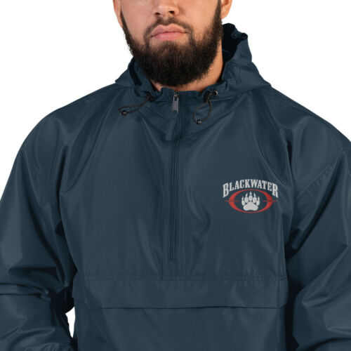 Blackwater USA Embroidered Champion Packable Jacket Diplomatic Security Academi