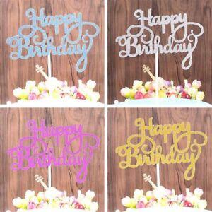 10PC Happy Birthday Cake Topper Dessert Cake Decoration Kids Baby LpRNc OHyJu