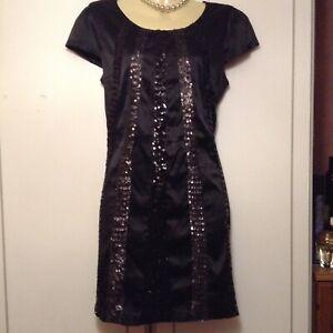AX-PARIS-Black-Satin-Sequin-Stretch-Dress