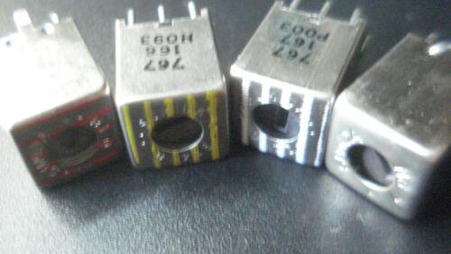 455 KHZ COIL AM 12 PCS YELLOW RED WHITE BLACK   KIT COIL 455 KHZ