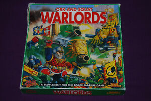 WARHAMMER-EPIC-40000-40K-Space-Marine-Boite-Ork-and-Squat-Warlords-VO