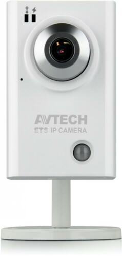 AVTech Lightweight HD IP Camera with Human Detector Sensor & Microphone / POE