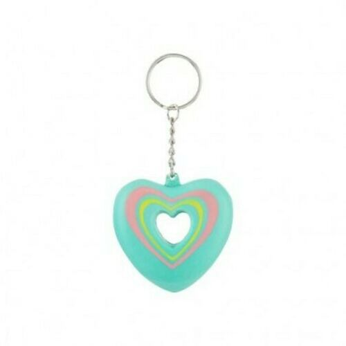 Sweetheart /'Squeeze Me/' Keyring ~ Stress Reliever ~ Heart or Star shaped **NEW**