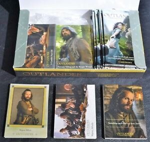 Cryptozoic-Outlander-Season-1-Complete-Base-Chase-Box-Wrappers-Trading-Cards