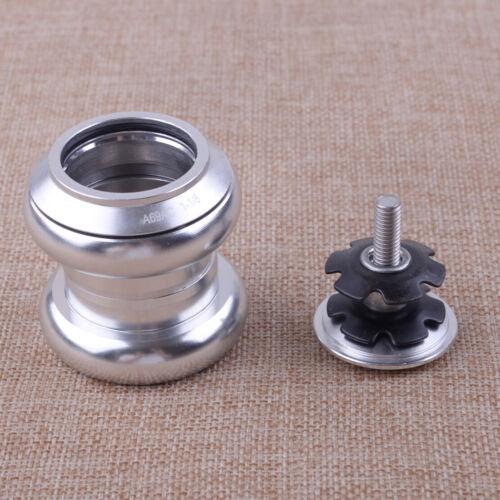 """34mm 1 1//8/"""" Fahrrad Steuersatz Threadless Bike Sealed Bearings Gabeln BMX Chrome"""