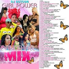 GIRL POWER REGGAE DANCEHALL MIX CD