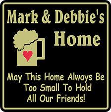 Personalized Sign Home Decor Family Bar Pub Gift #41 Custom USA Made
