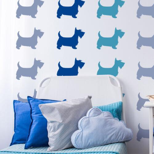 Large Reusable Scottie Dog Stencil CraftStar Scottie Dog Stencil