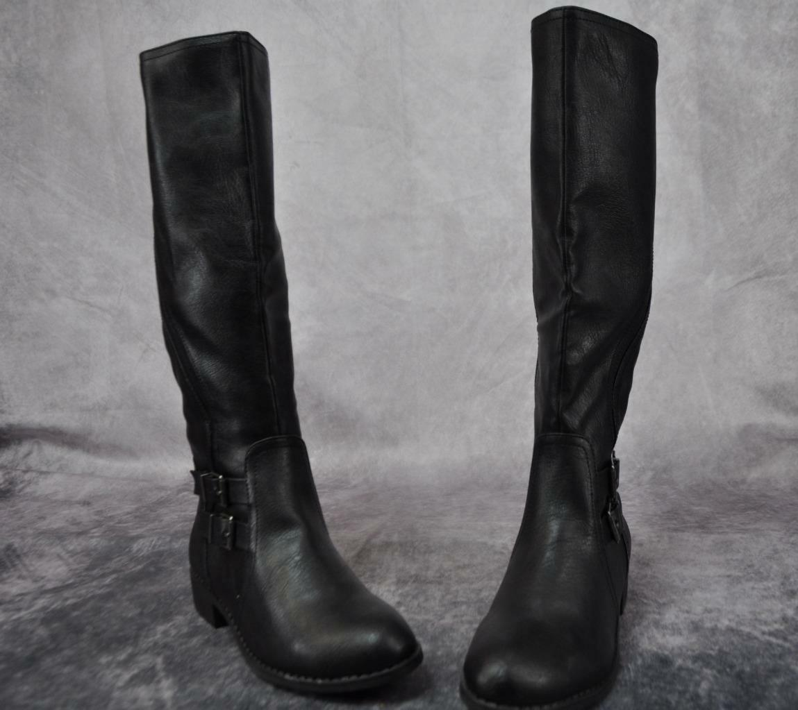 Style & Co Milahp Womens Fashion Boots Inside Zipper Size 8 Faux Leather