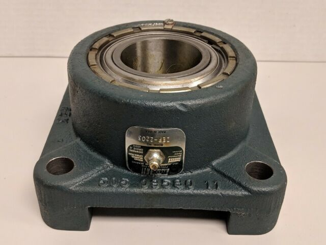 ZBR2107 Rexnord New Roller Bearing Flange Unit