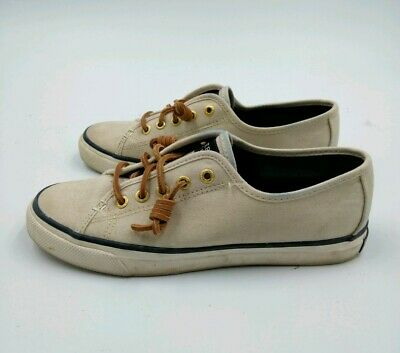 Sperry Top Sider Seacoast White Canvas