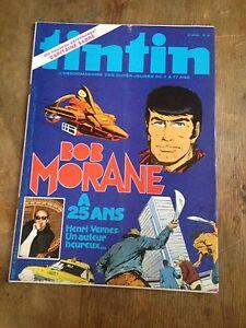 journal-tintin-25-1980-Bob-Morane-a-25-ans