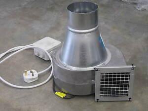 Industrial Extractor Fan Centrifuge Ventilateur 650m3/hr 230 V nouveau Extraction De Poussière  </span>