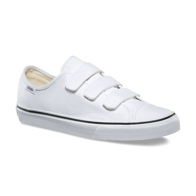 3a9bc059 Vans 3 Straps Style 23 V Canvas True White Mens Womens Shoes Sneakers All  Sizes