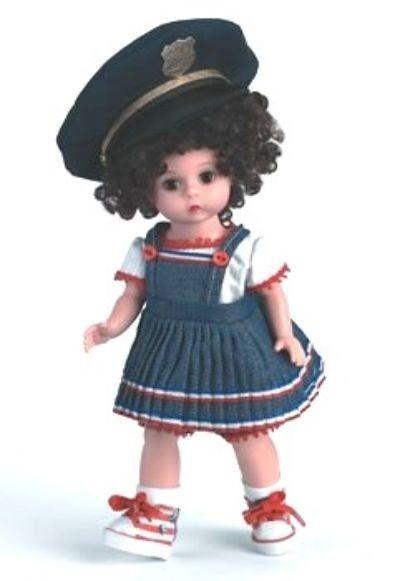 Nuevo En Caja Hermosa Madame Alexander 8  Daddy's mi héroe Muñeca Sombrero nunca quitado de la caja