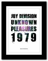 ❤  Joy Division ❤ Albums That Built Punk typography poster art print