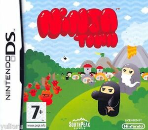 NINJA-TOWN-GIOCO-PER-NINTENDO-DS-3DS-GIOCO-PER-BAMBINI-NUOVO
