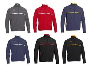 Under Armour Mens Win It Woven Full Zip Team All Season Coat Jacket LARGE T-4XL