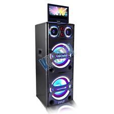 New PYLE PKRK215 AUDIO&VIDEO PA SPEAKER KARAOKE BT MP3/USB/SD, FM , Wireless Mic