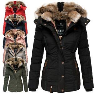 Damen Winterjacke Steppjacke Parka Kapuze Neu Marikoo Nekoo Kurz Jacke Gefüttert Zu Details CxsQothBrd