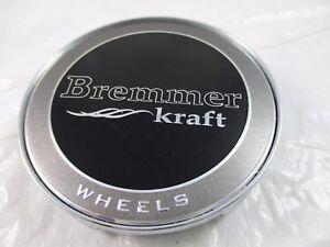 BREMMER-KRAFT-BLACK-CUSTOM-WHEEL-CENTER-CAP-BR4-2-CAP-FOR-1-CAP