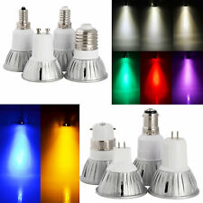 8x 3W LED GU10 Green Coloured Reflector Spotlight Decorative Bulb Lamp