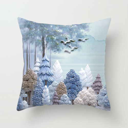 """18/""""x18/'/' Ethnic Style Deer Animal Astronaut Polyester Pillow Case Cushion Cover"""