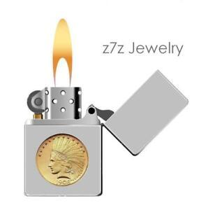 coin in cigarette lighter