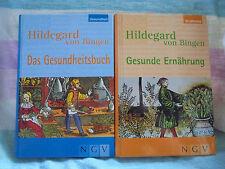 2 x Hildegard von Bingen: Das Gesundheitsbuch + Gesunde Ernährung, Selbsthilfe