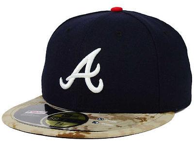 Official Mlb 2015 Atlanta Braves Memorial Day New Era 59fifty