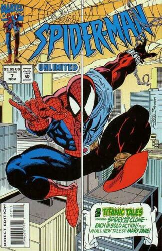 NM Spider-Man Unlimited #7 November 1994 Spiderman Comic Book
