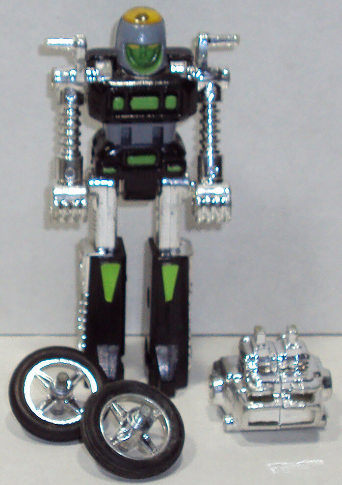 GOBOTS. CY-KILL MR-01. GREEN VARIANT. COMPLETE.