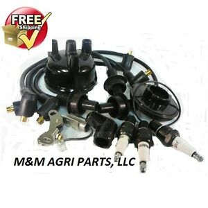 ford tractor ignition tune up kit 2000 3000 4000 wires. Black Bedroom Furniture Sets. Home Design Ideas