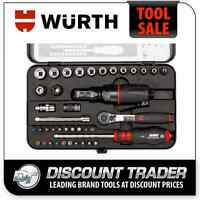 Wurth Multi Function Ratchet Wrench Kit - 070381340