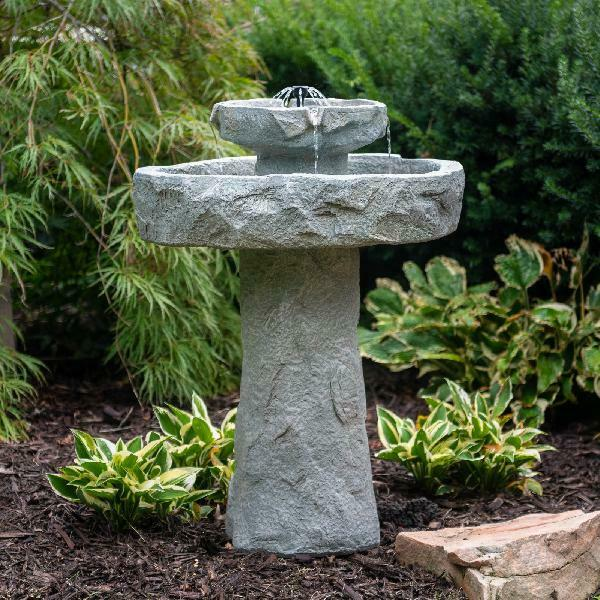 Water Fountain Garden Backyard Cascade